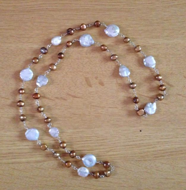 Pearls & Sterlling Silver