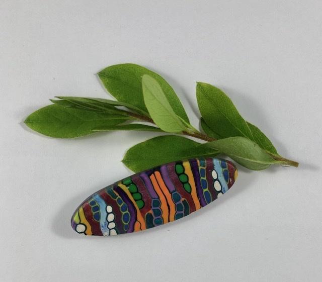 Aztec Nation brooch