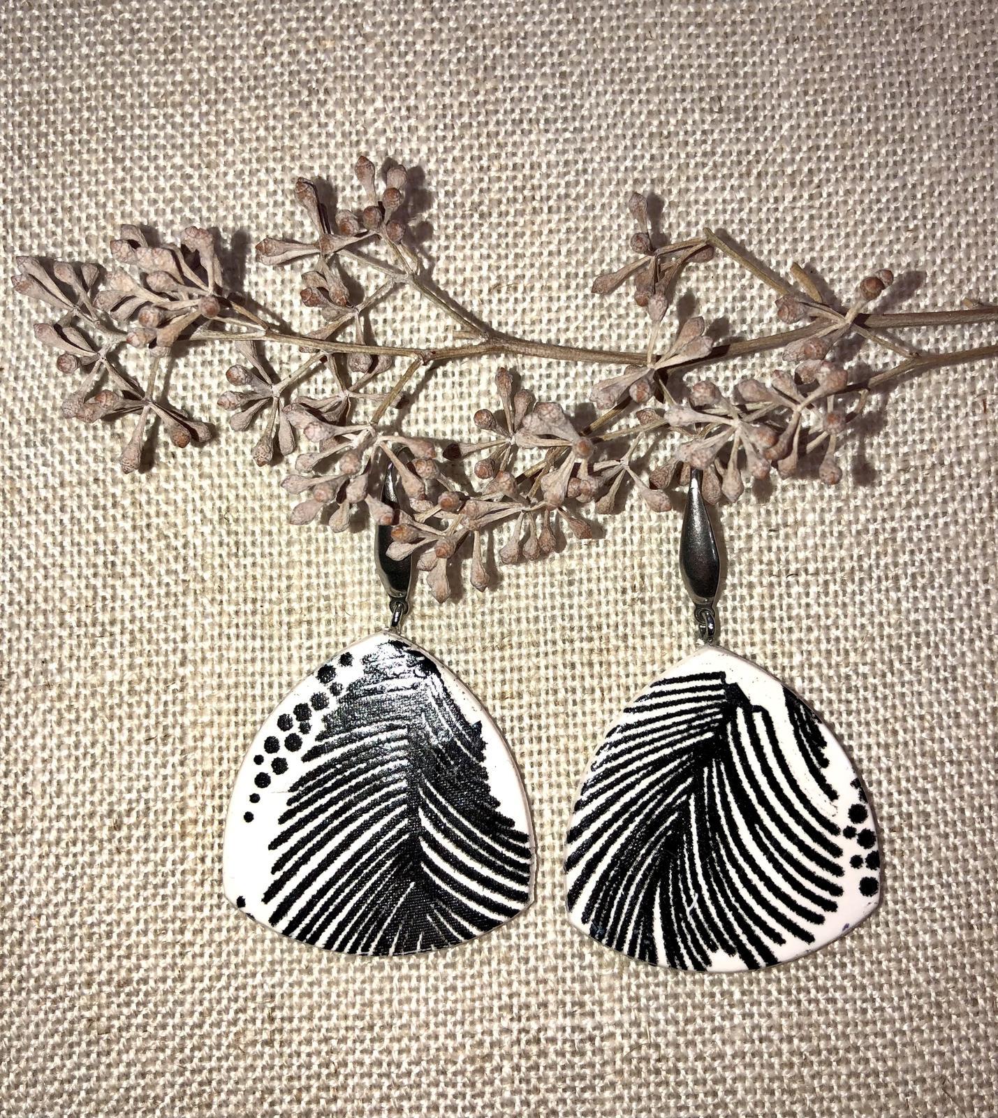 'Feathers' Earrings