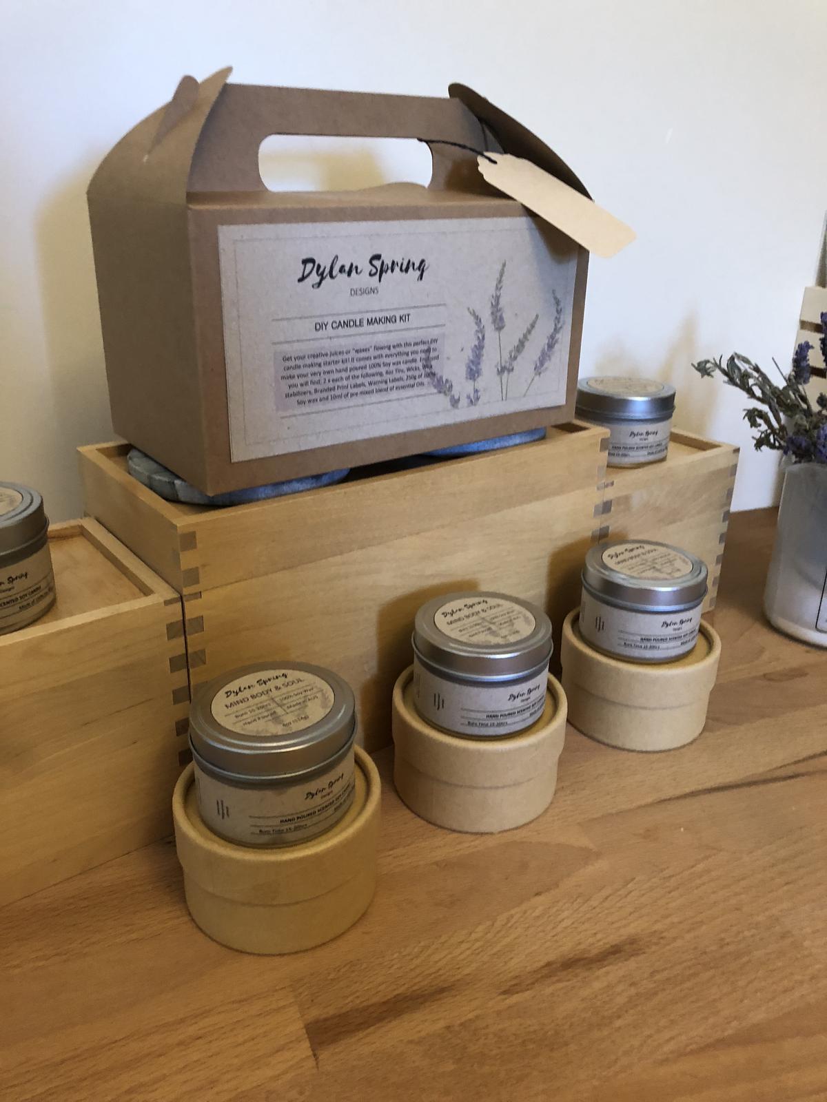 Stall Display - Trial Setup #3 - Candle Making Kits