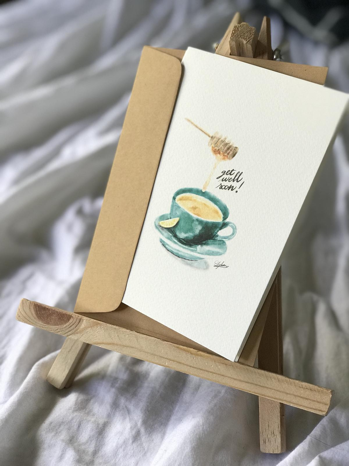 Product Images - Get Well Soon! *HONEY TEA