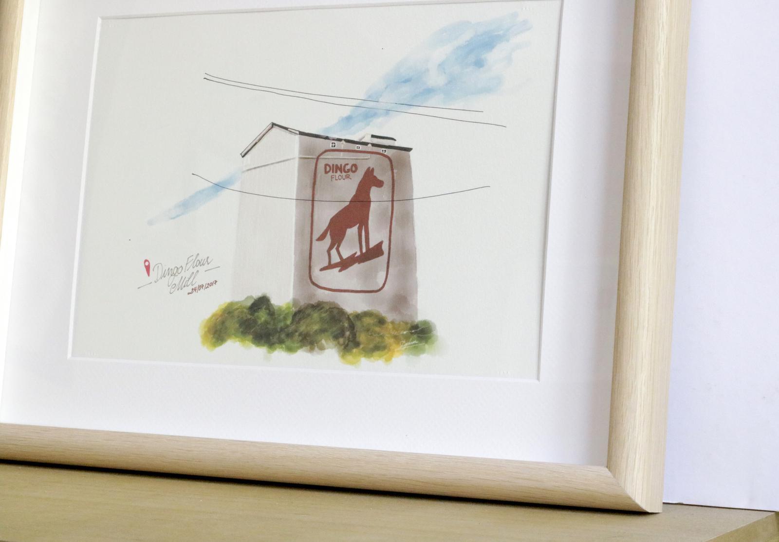 Product Images - Frames Work - Dingo Flour House