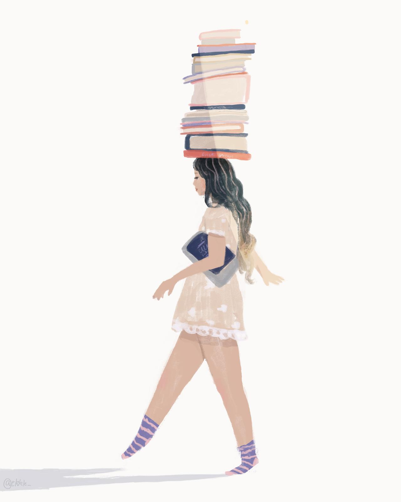 The Balancing Books print