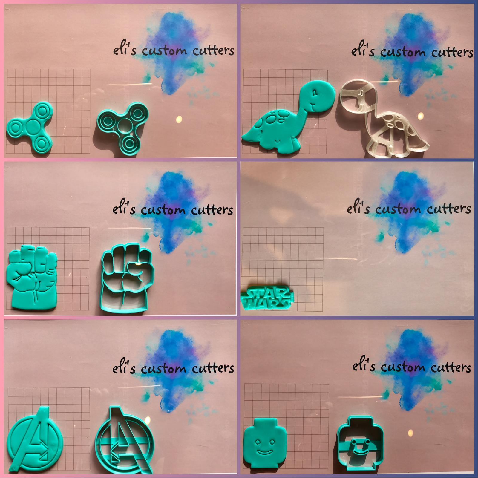A small selection of cookie cutters