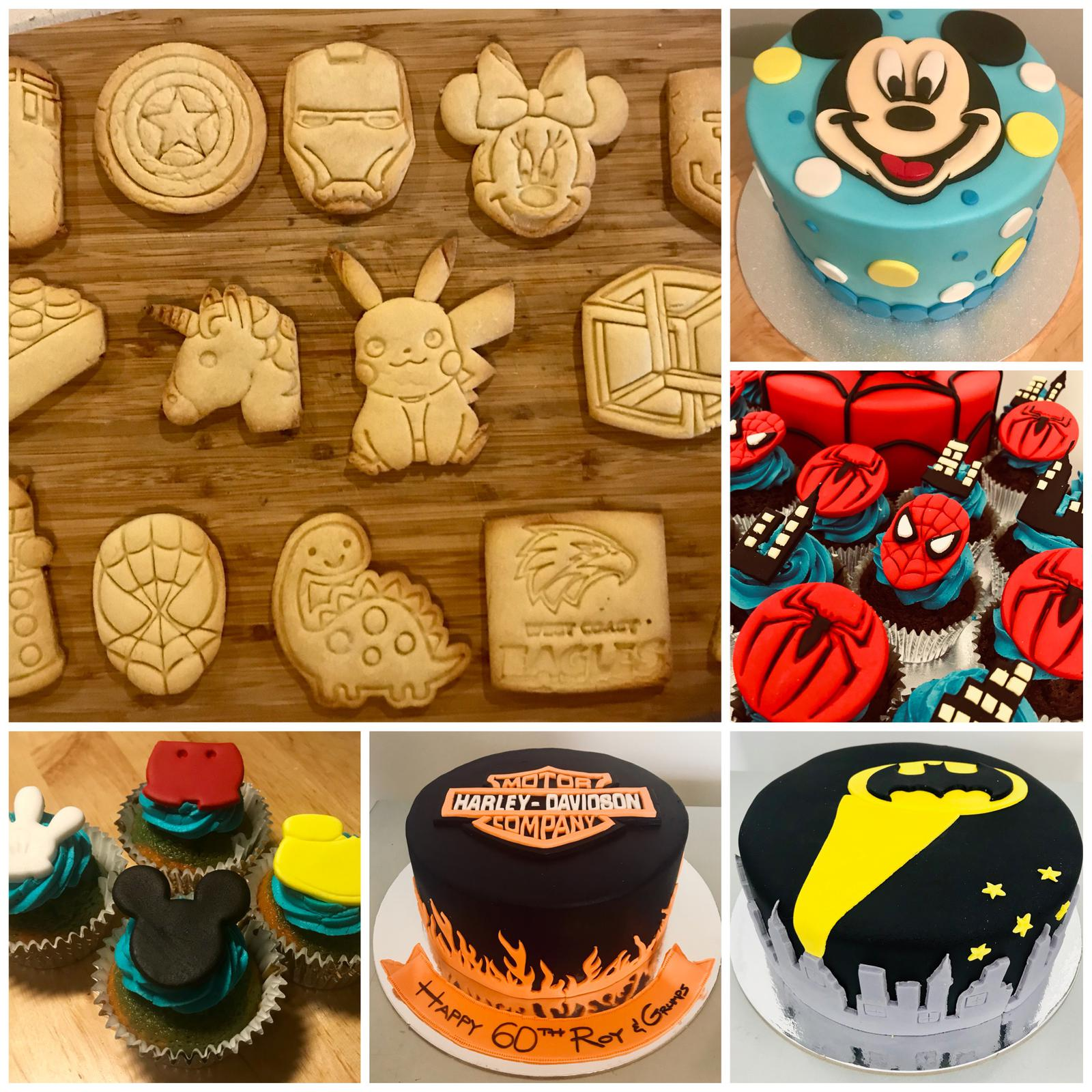 Awesome examples of our cookie and fondant cutters in action