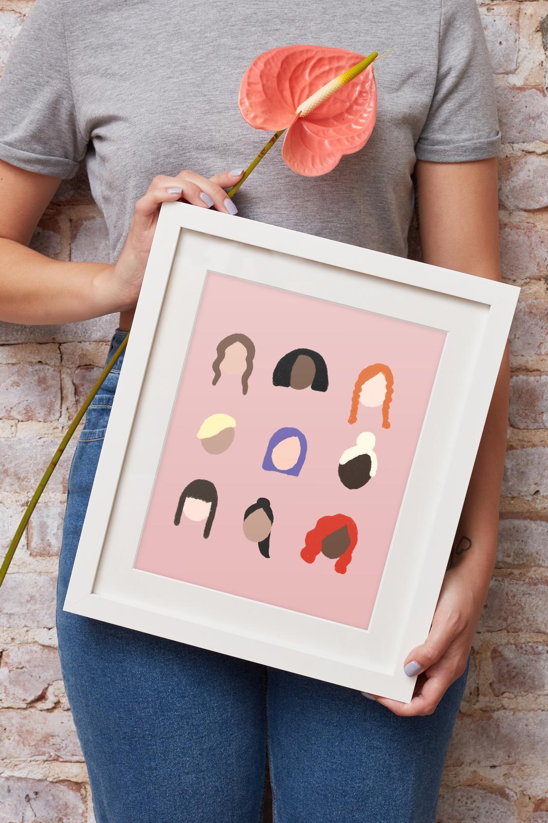 Women Art Print
