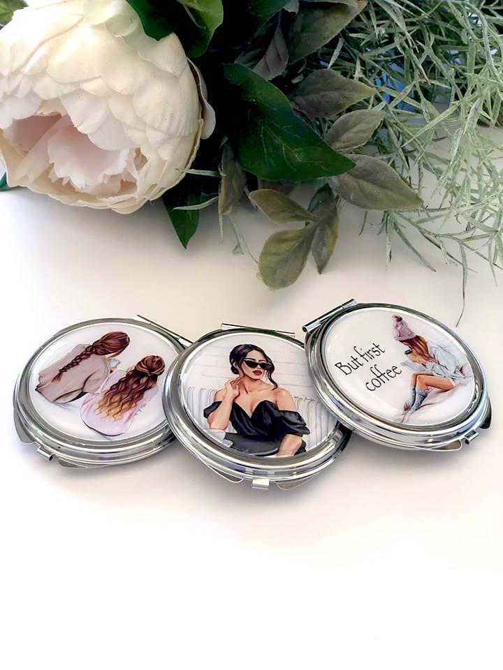 Handmade Compact Mirrors