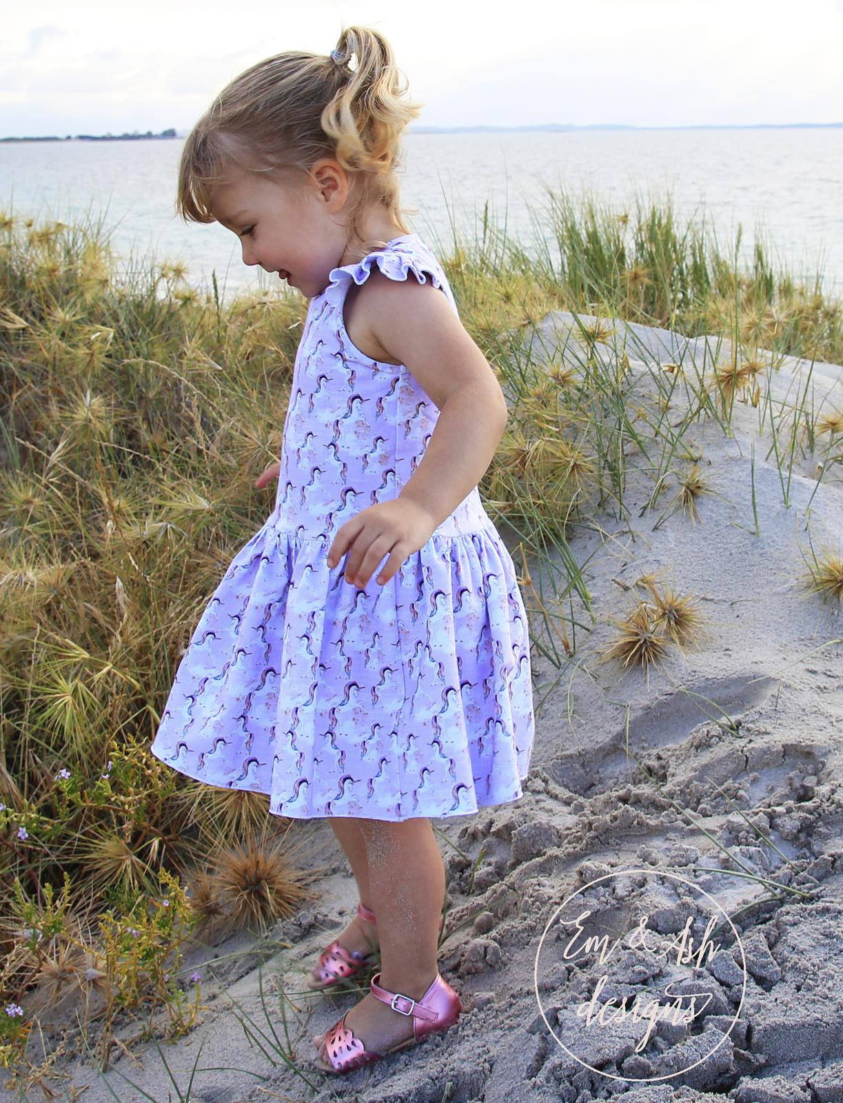 Lilac Unicorn Knit Dress