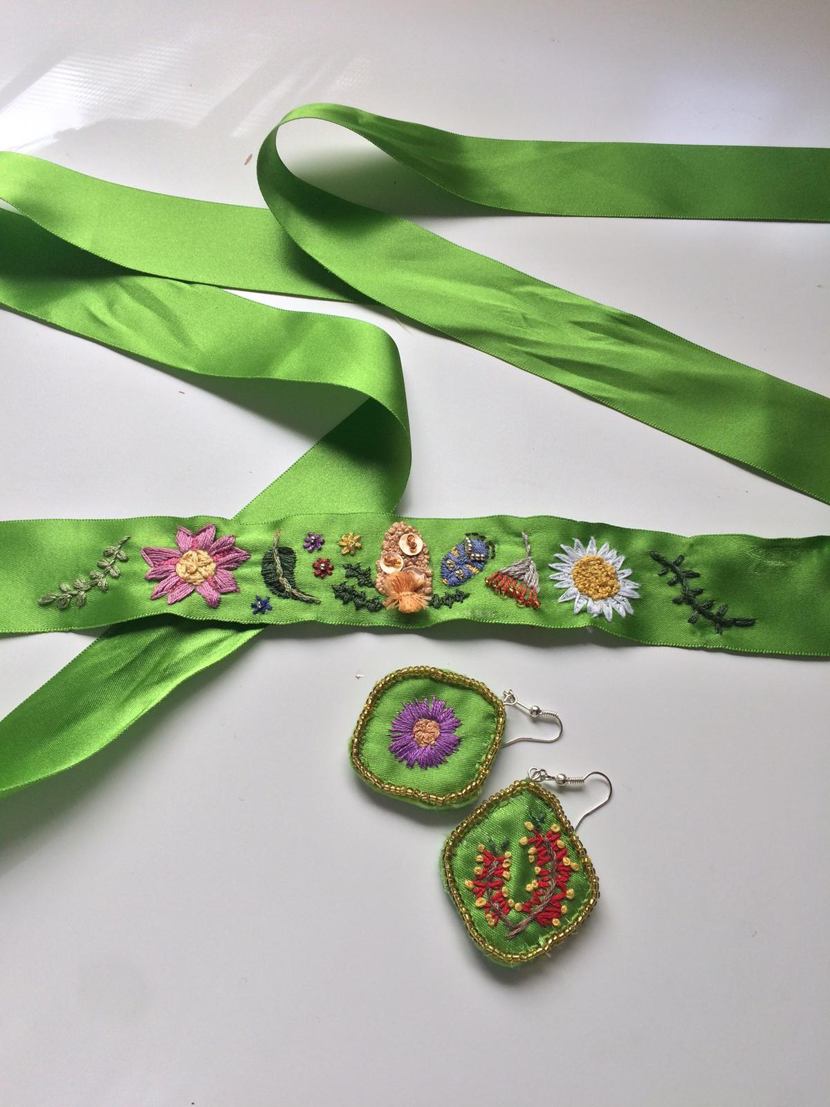 WA Native Flower Embroidery