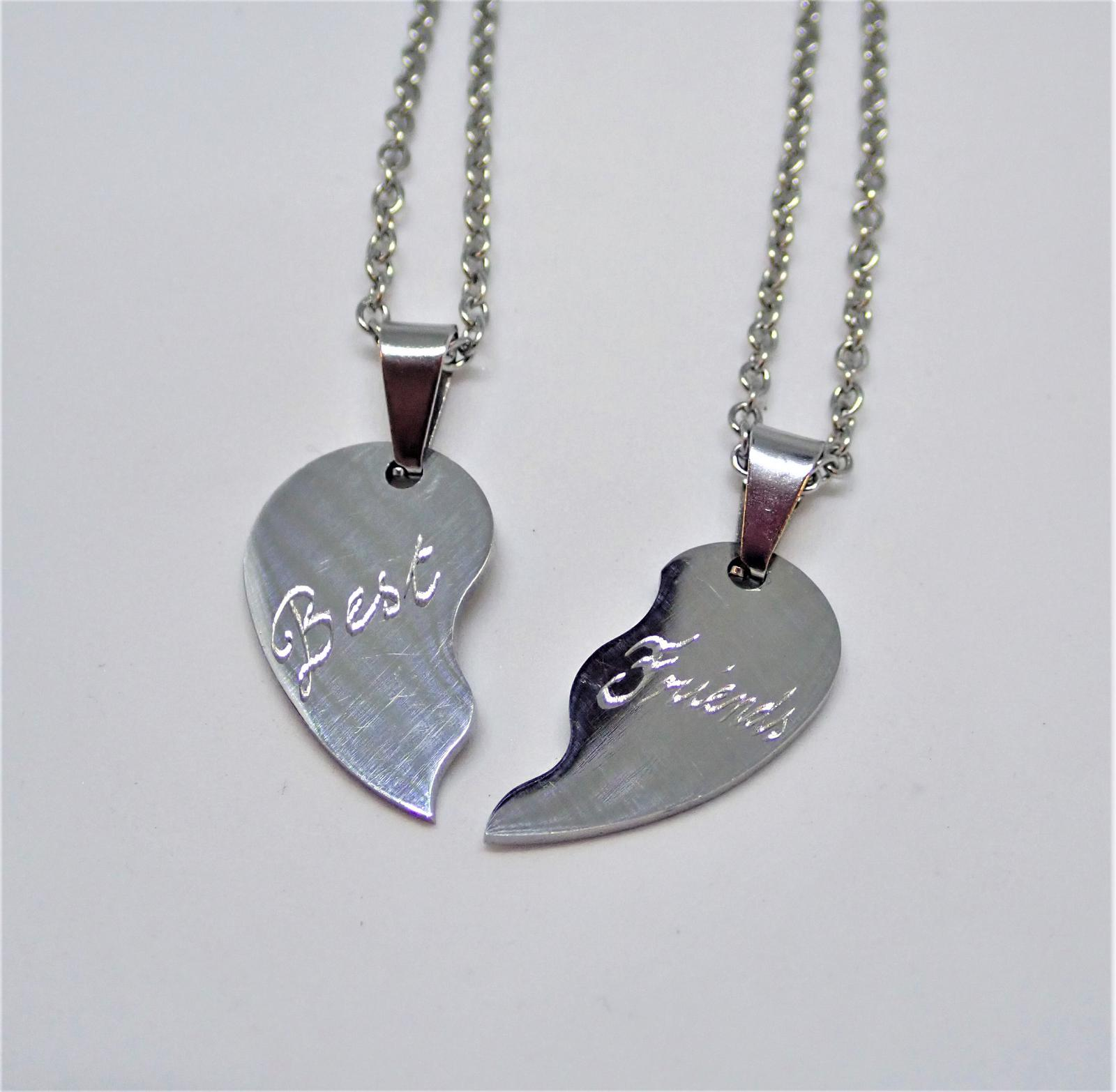 Hand Engraved Personalised Stainless Steel Necklaces