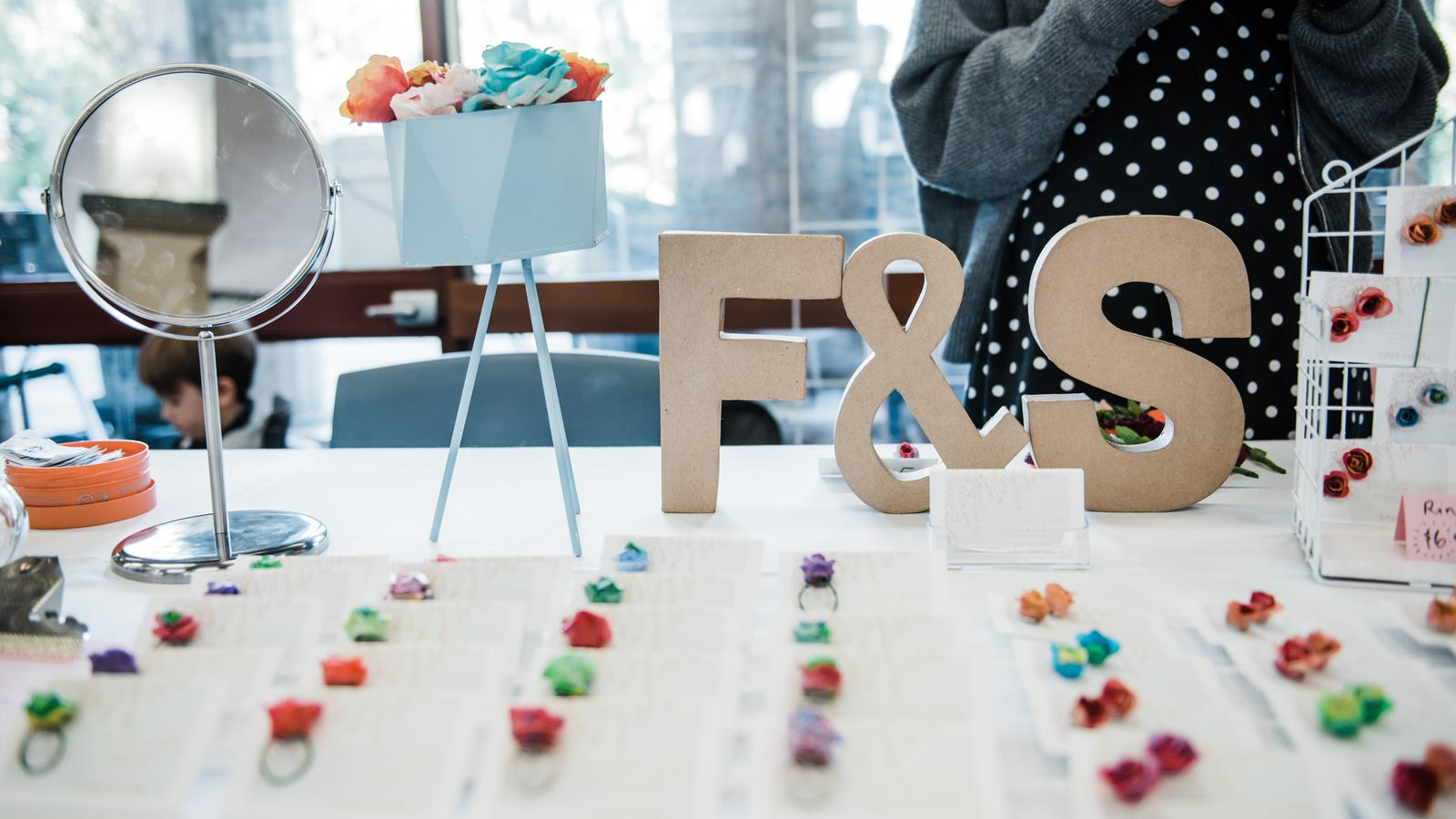 """F&S"": Sweet and totally unique accessories for every flower-lover."