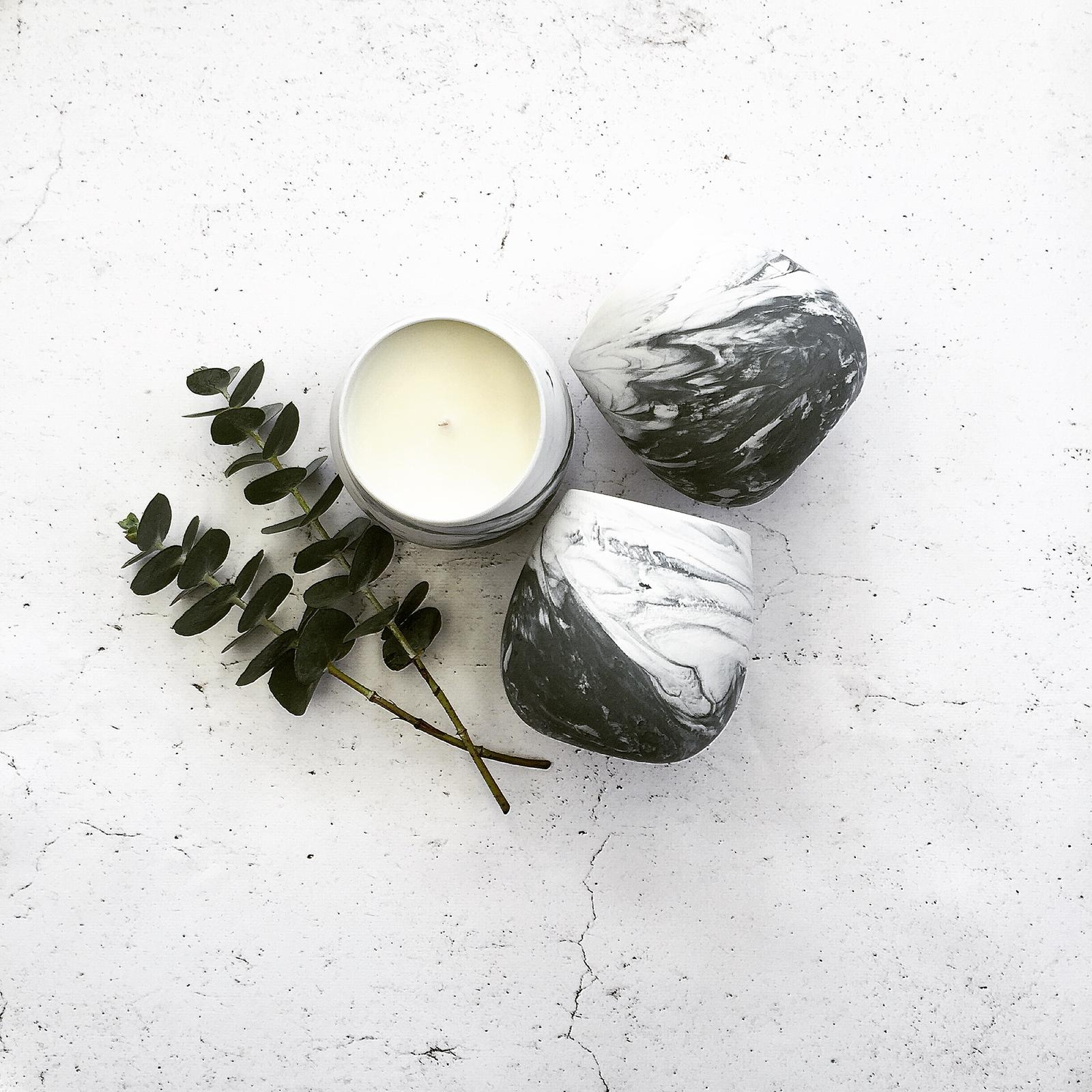 Marblet Candles