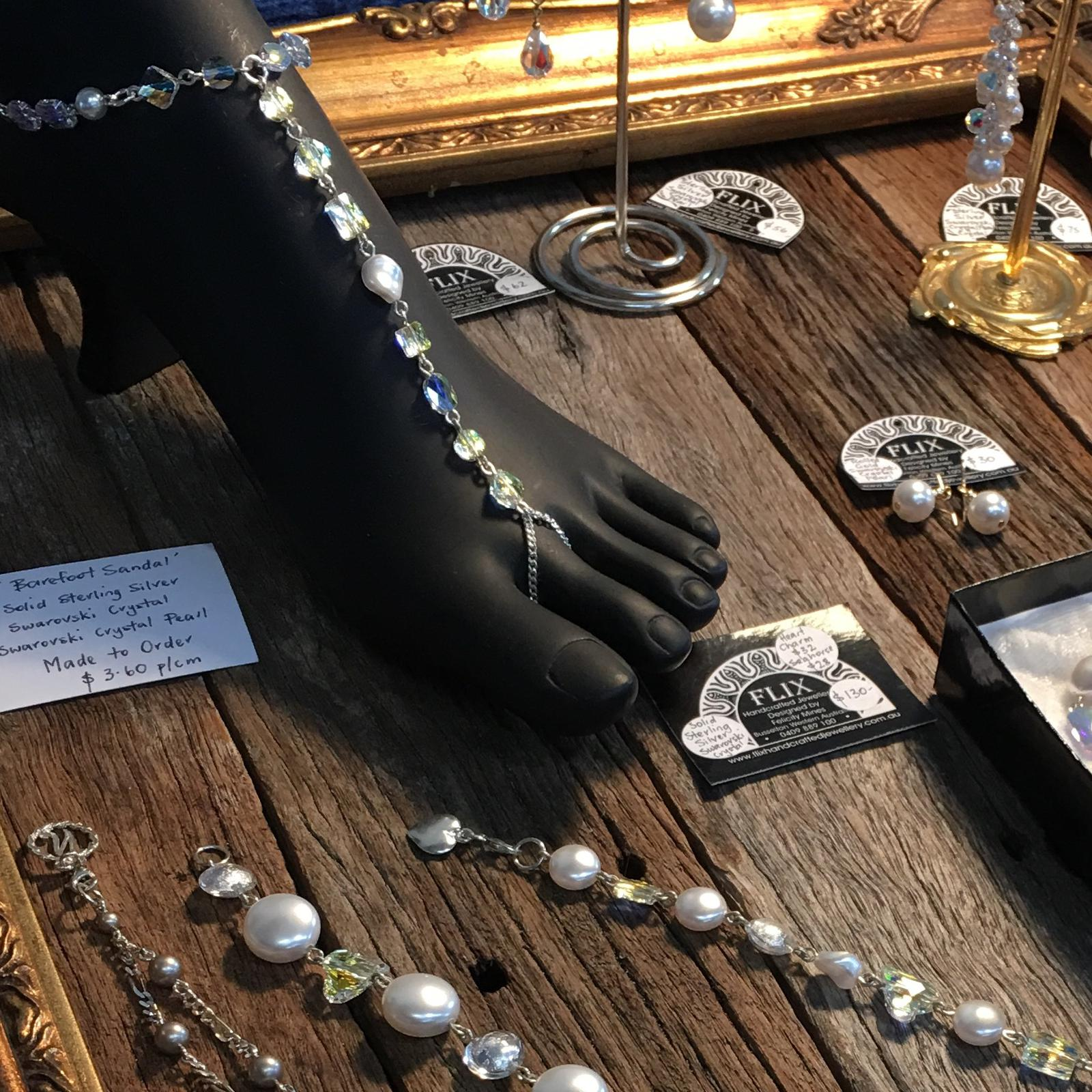 Flix Handcrafted Jewellery display