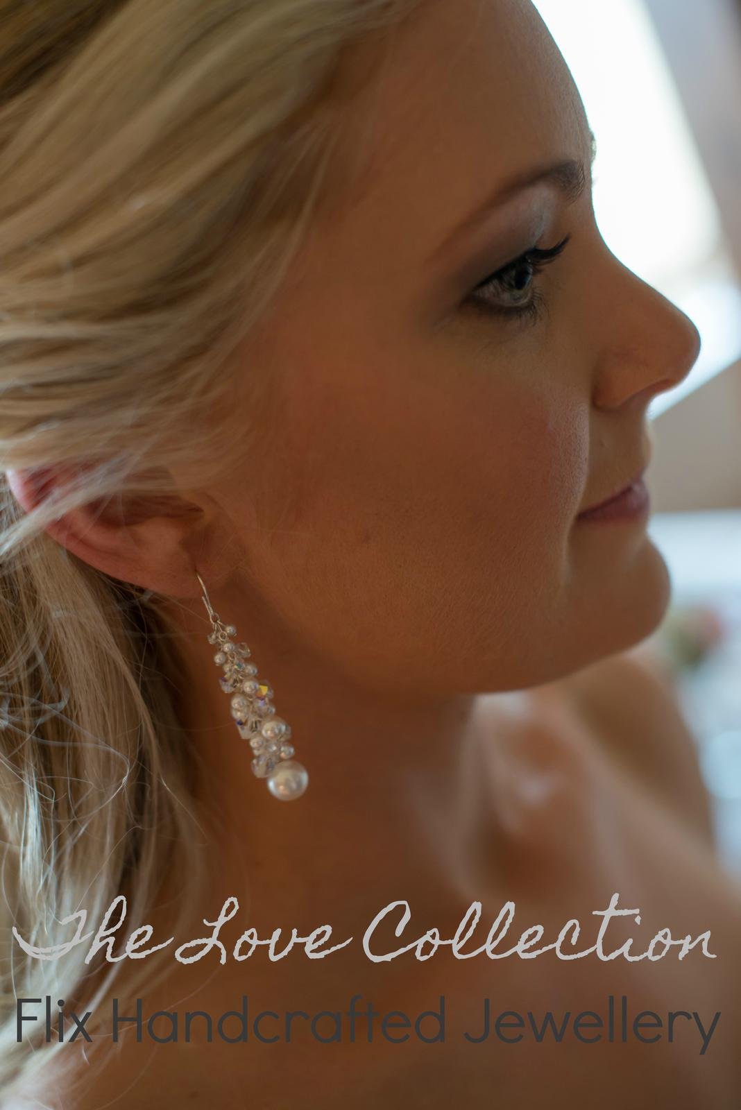 Beautiful Swarovski Crystal Earrings from my 'LOVE' Collection