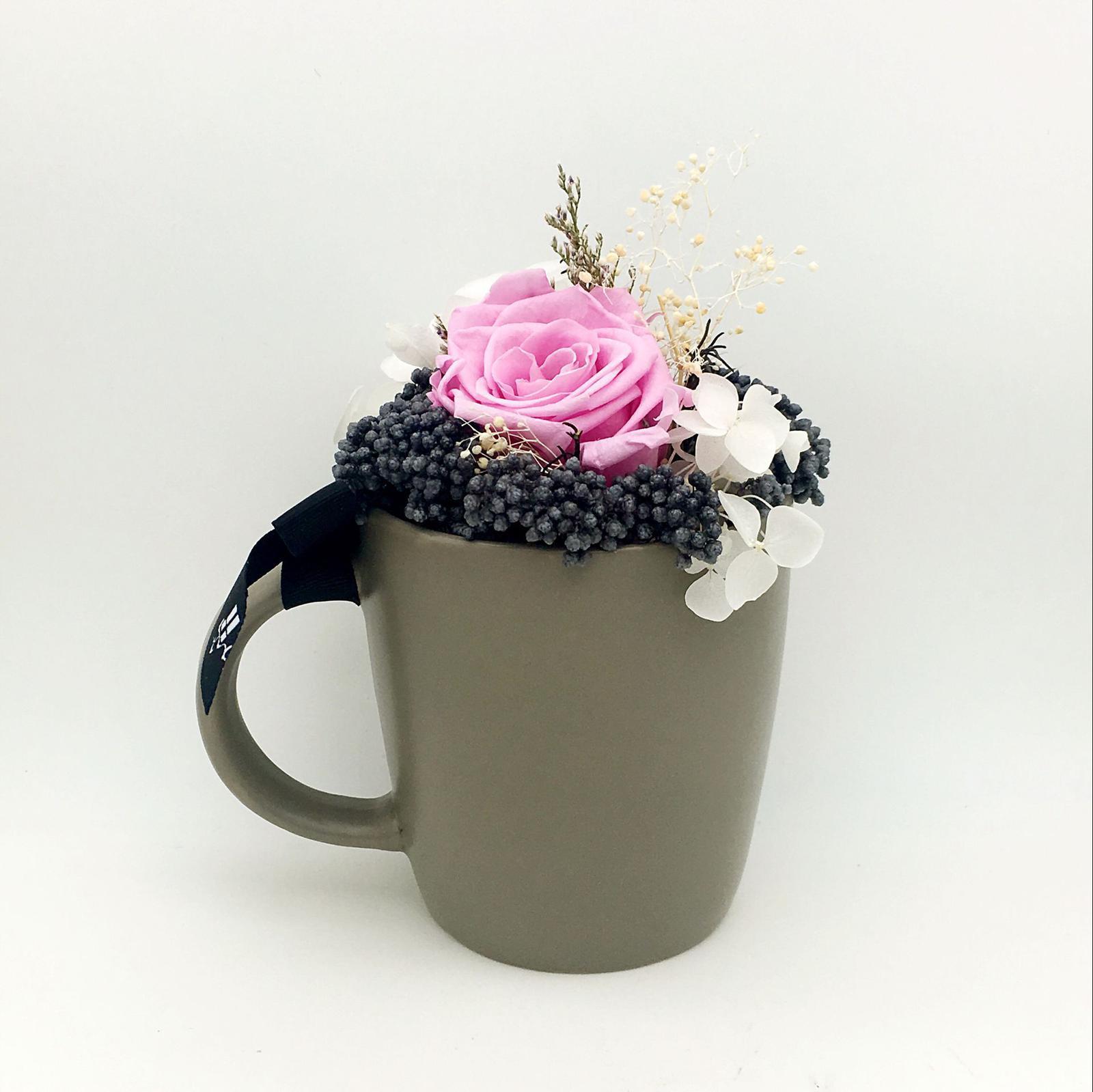 Mugs and roses