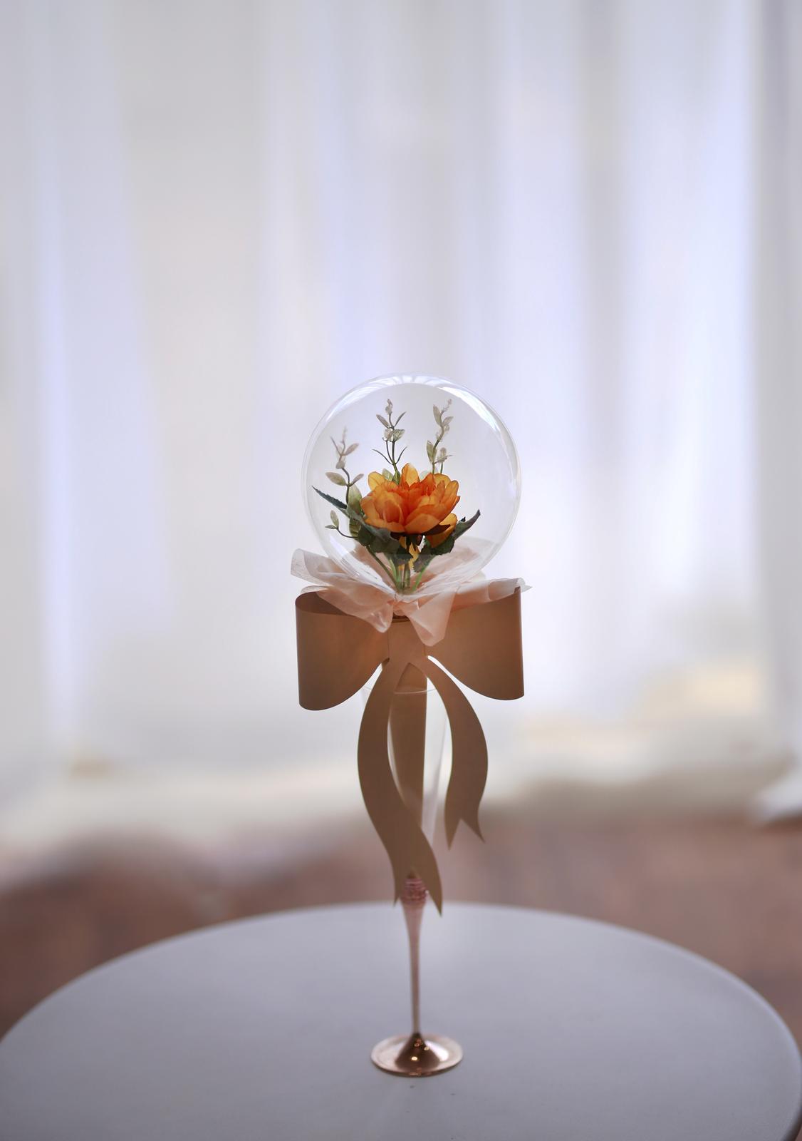 single flowerballoon