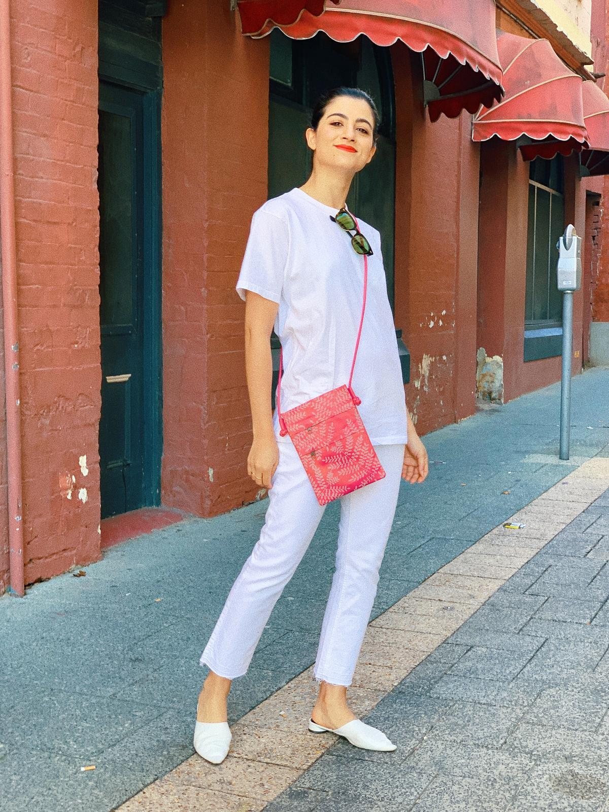 Silk Shoulder Bag