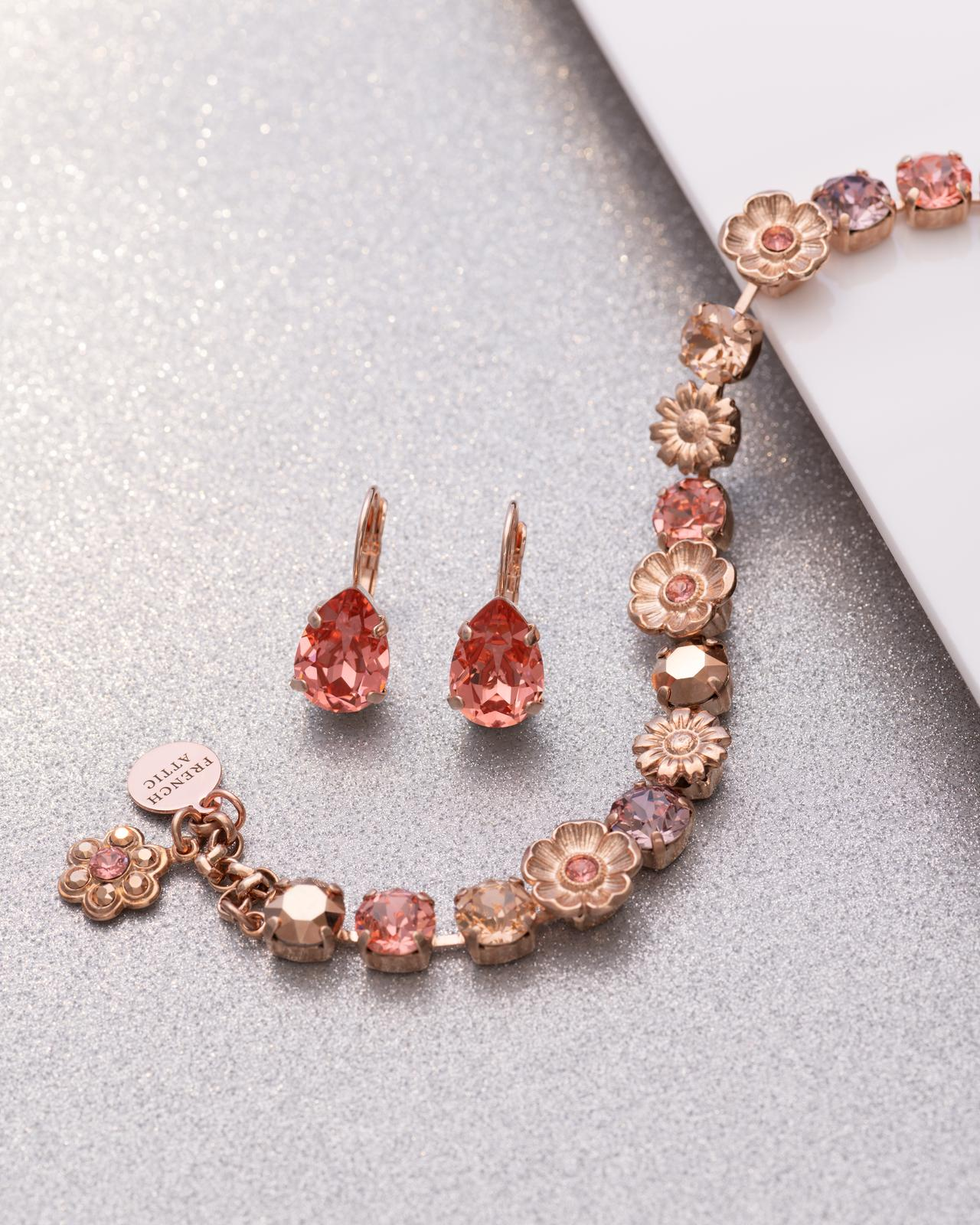 Floral Bracelet and earring