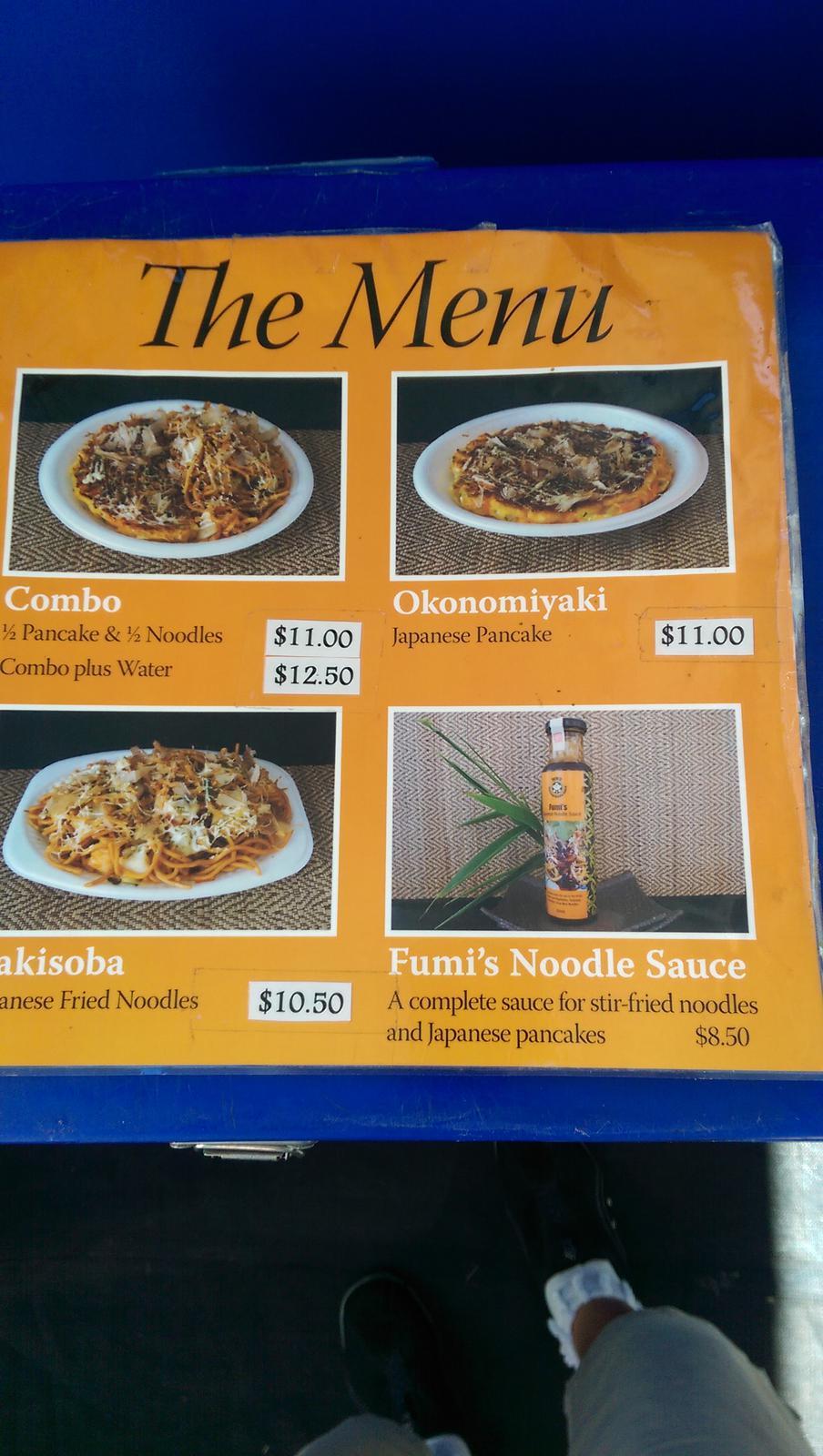 Fumi's Japanese Pancakse & Noodles