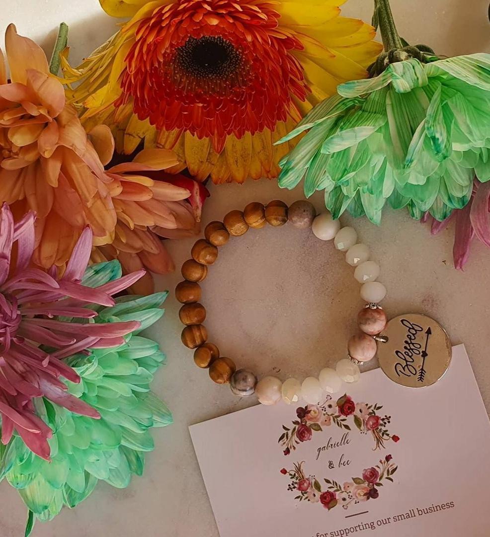 Semi precious blessed bracelets