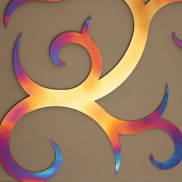 Galaxia Metal wall art