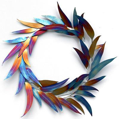 Metal wreath