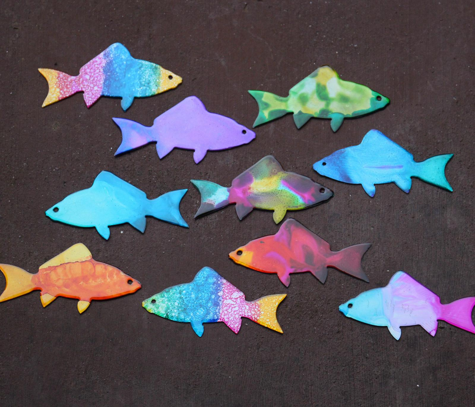 Galaxia Metal fish