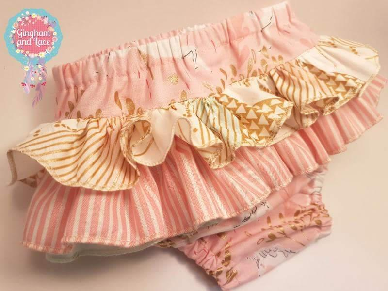 Ruffled Nappy Cover