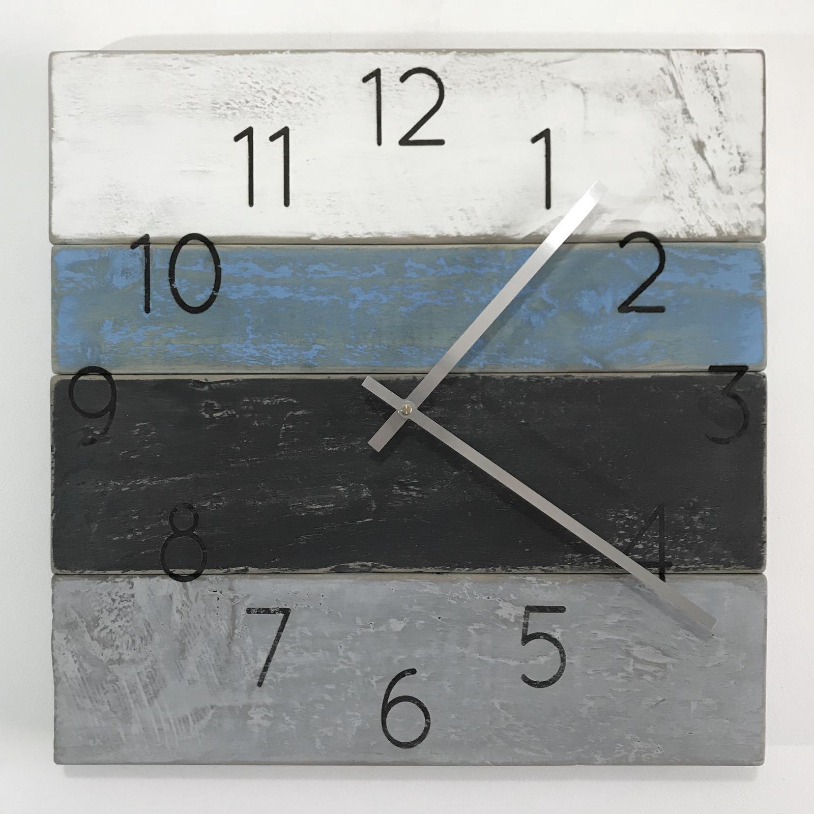 Lasered clock