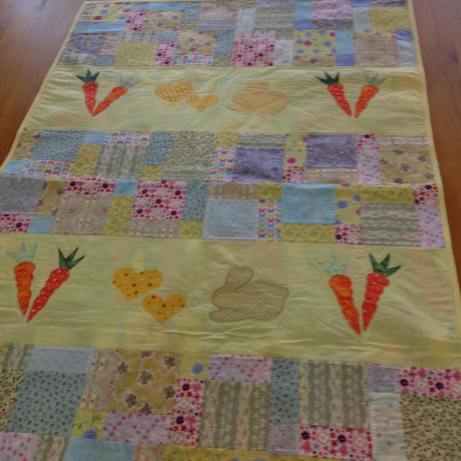 Grandma's quilts - cot quilt