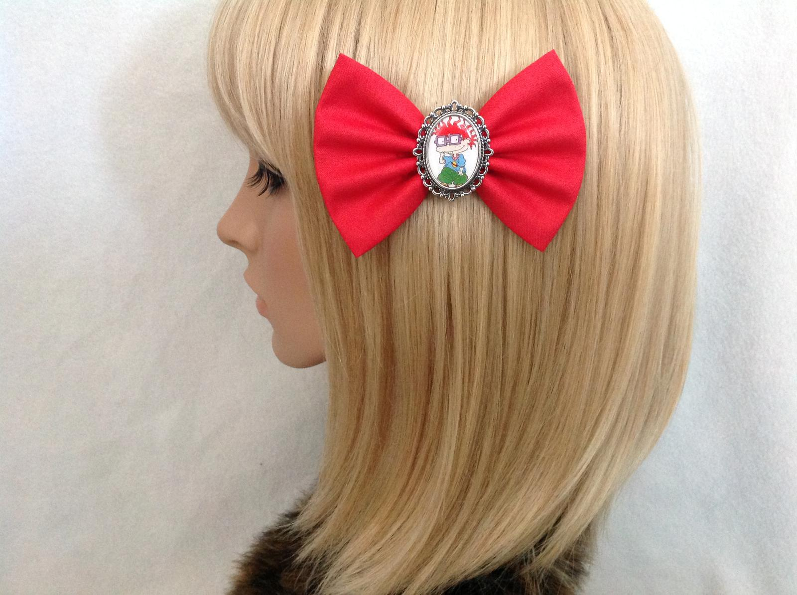Rugrats Chucky hair bow