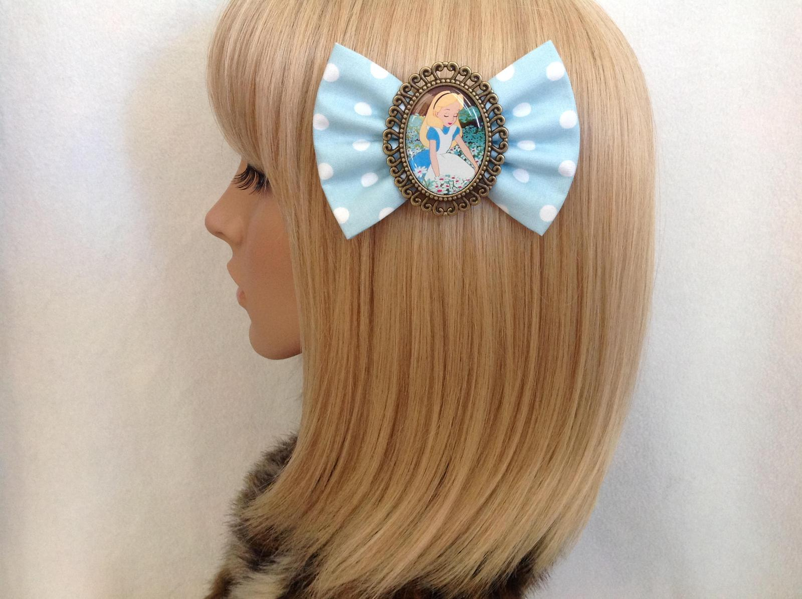 Alice in Wonderland large bow
