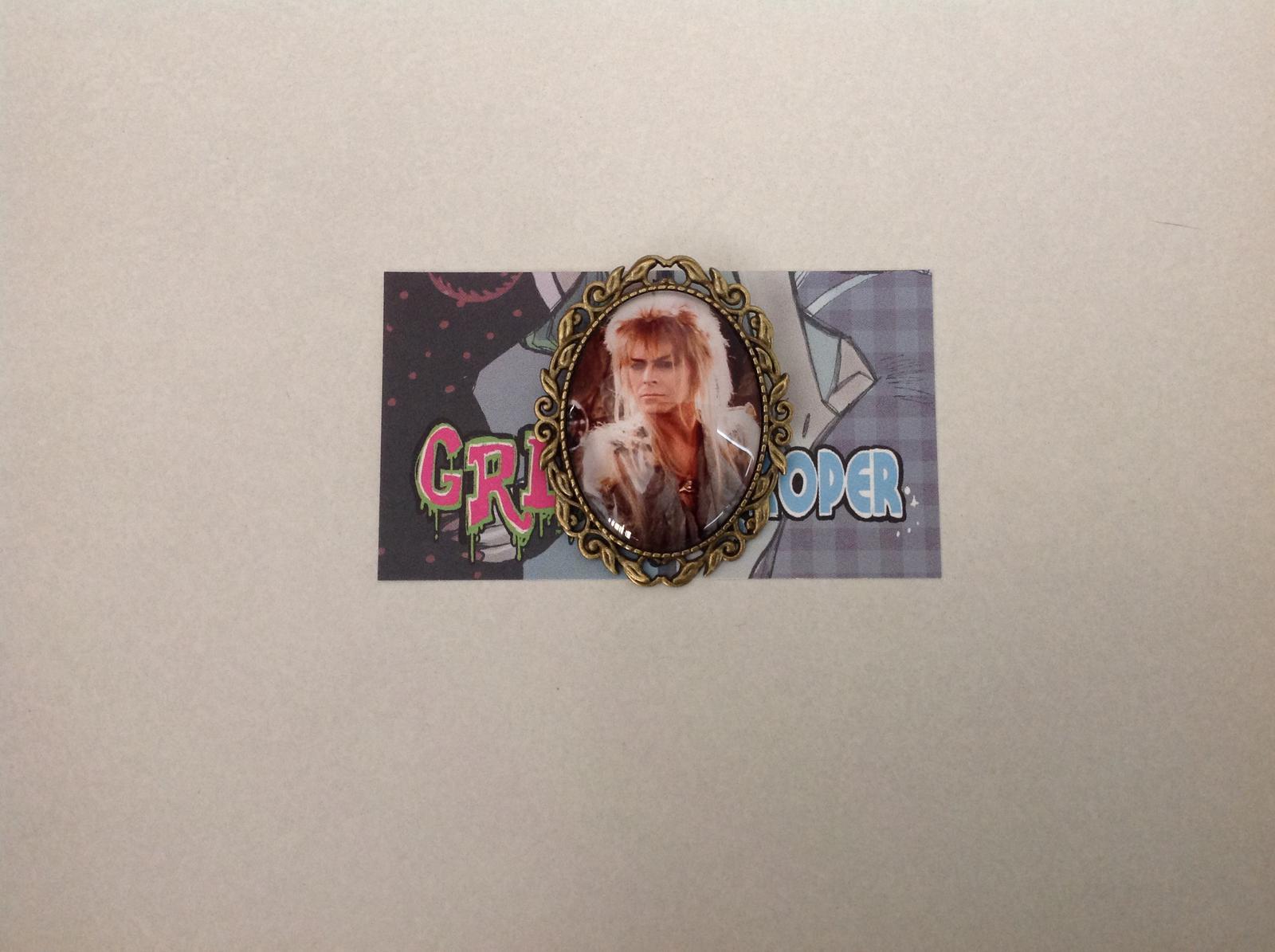David Bowie The Labyrinth brooch