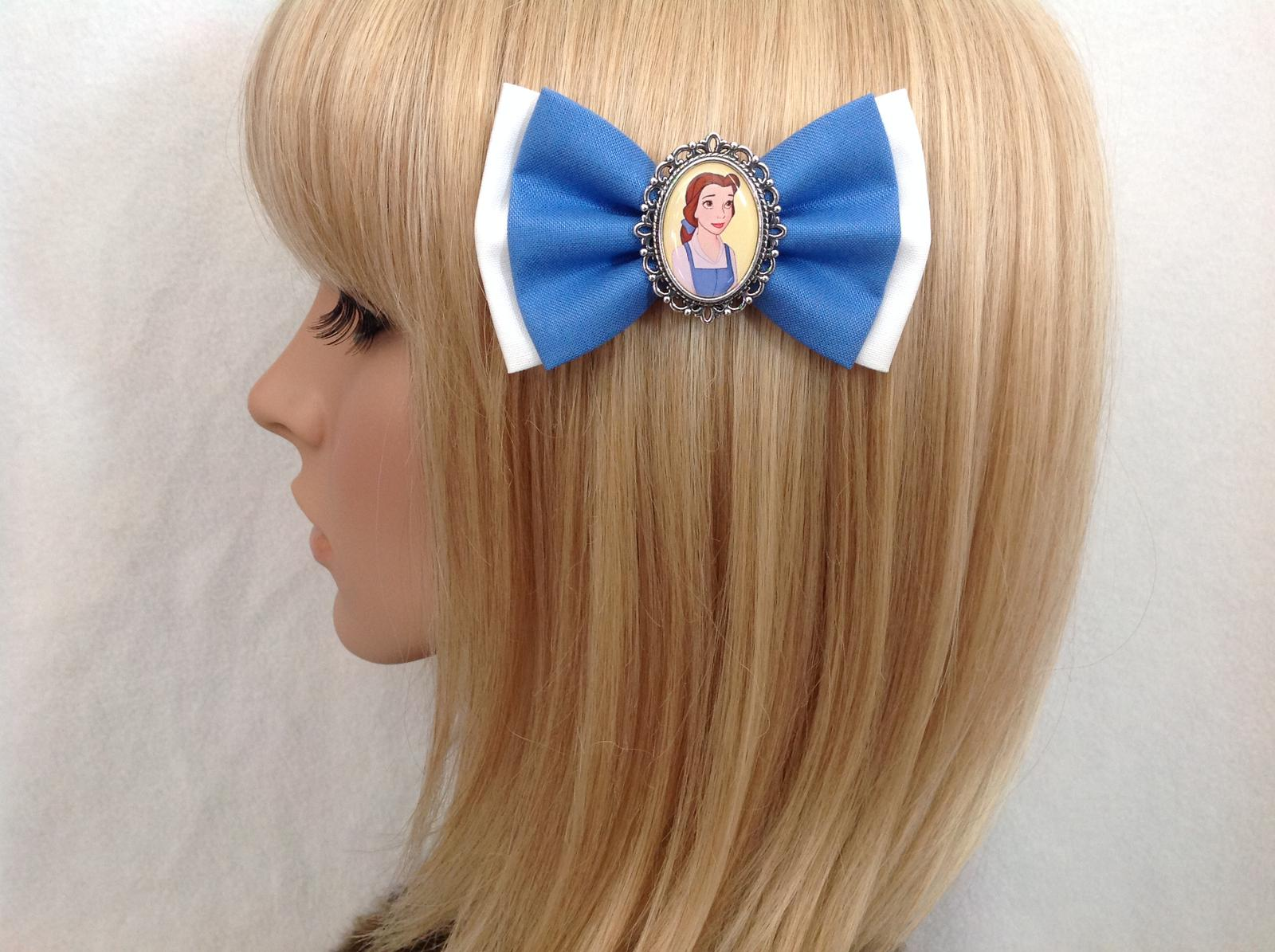 Belle Beauty and the Beast bow
