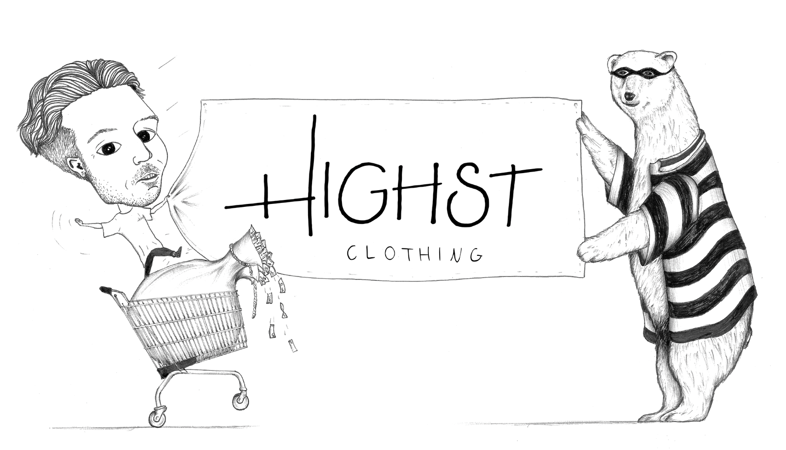 HIGHST Clothing cover