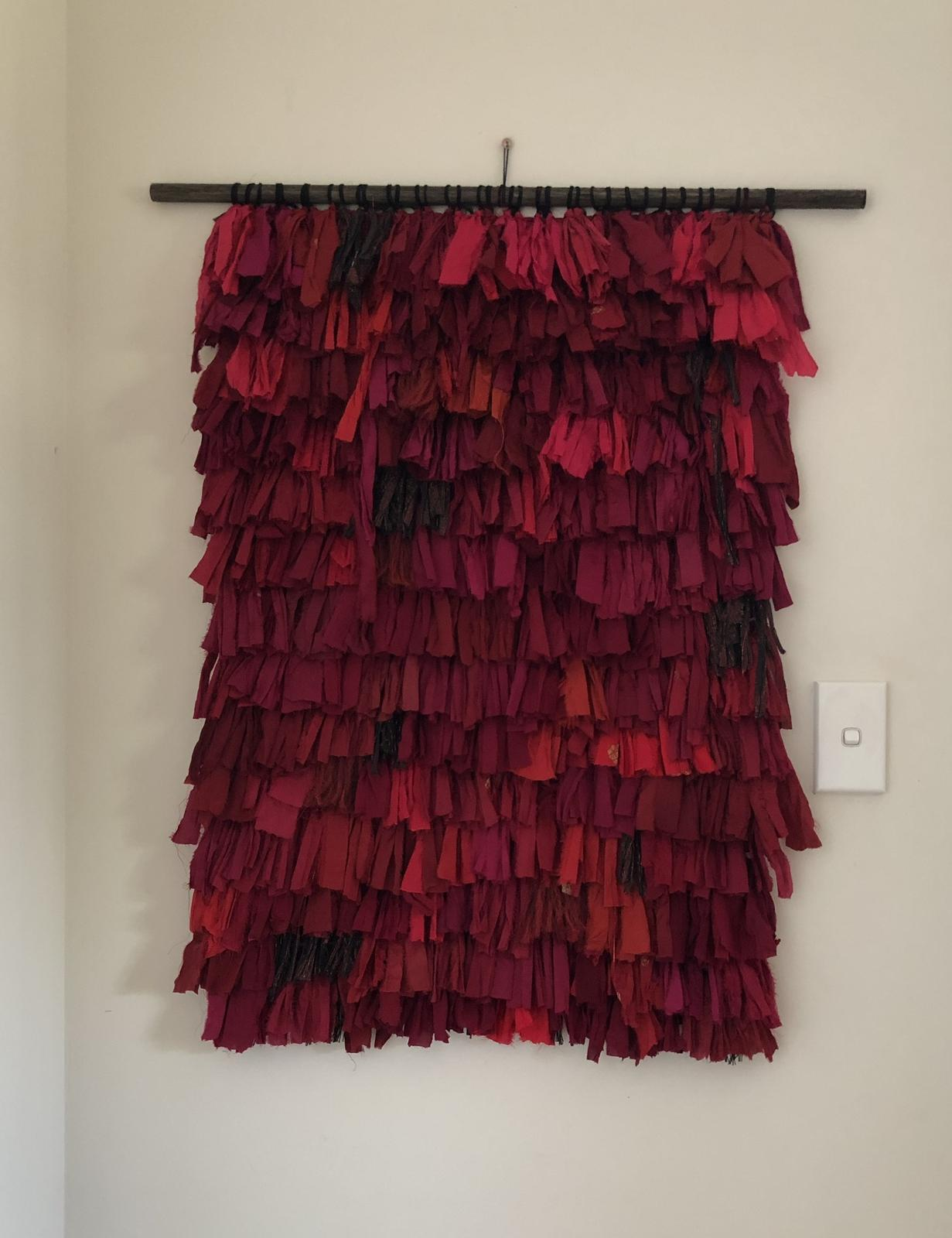Weaved wall hanging