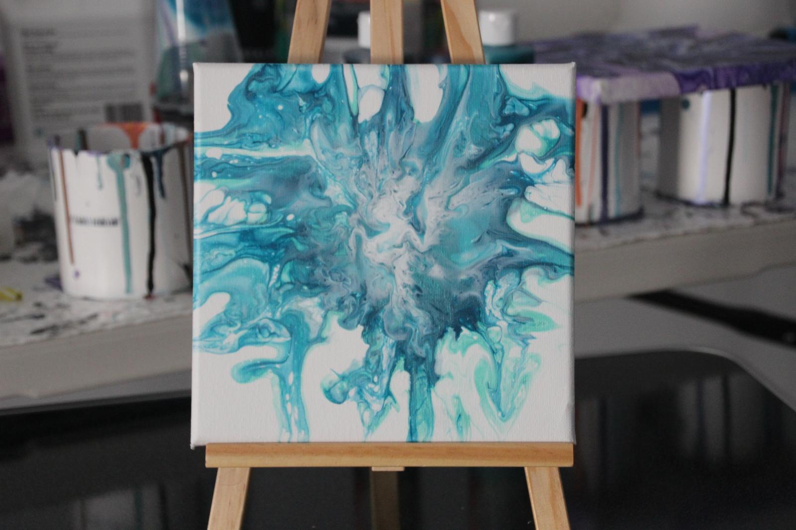 Splash - Fluid Art Canvas