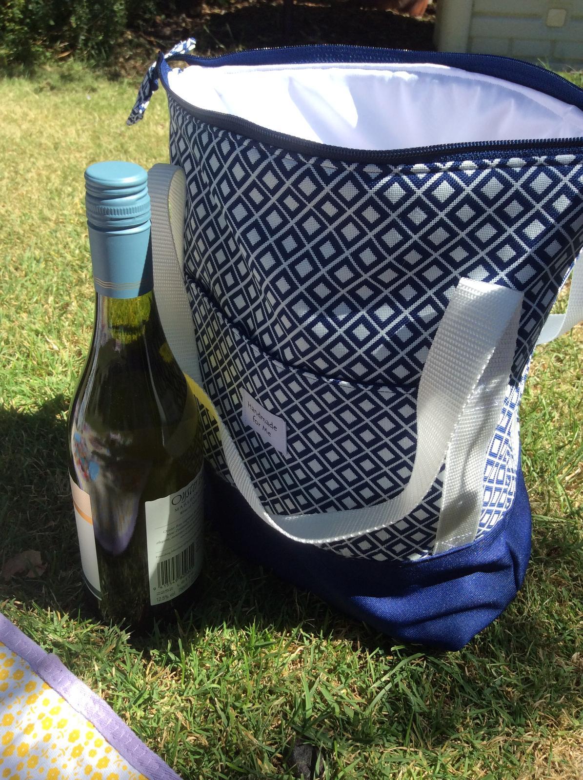 Blue Diamond Insulated Bag, Cooler Bag, Adult Lunch Bag, BPA Free