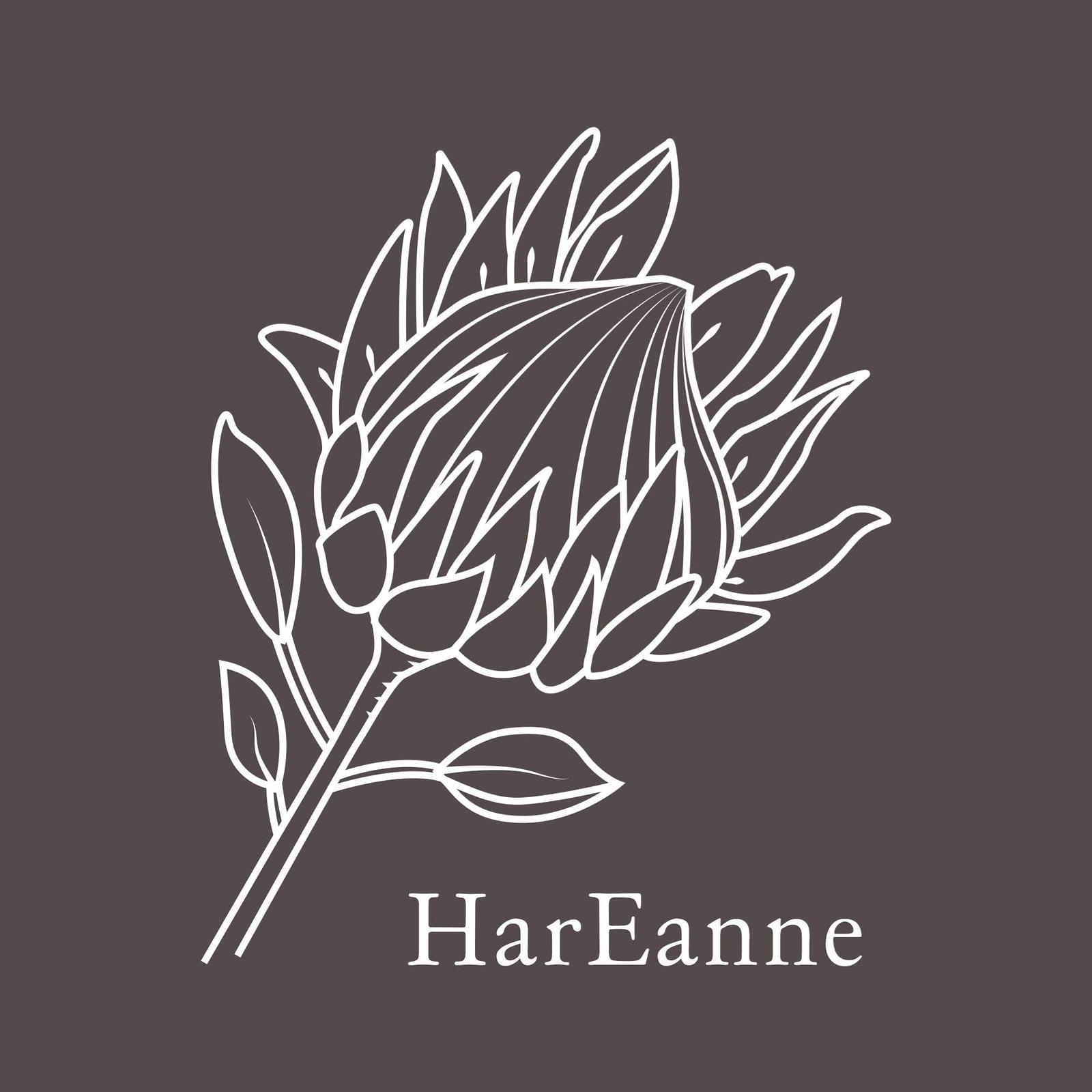 HarEanne protea logo