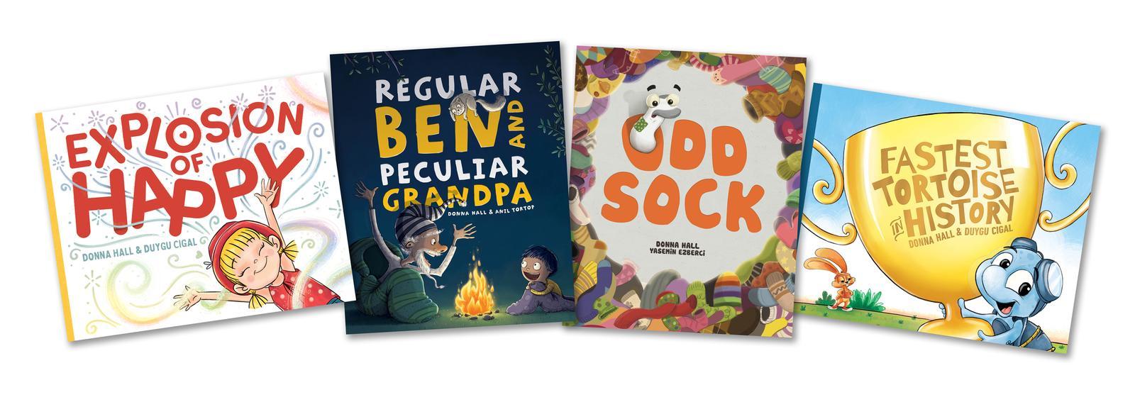 Donna Hall books