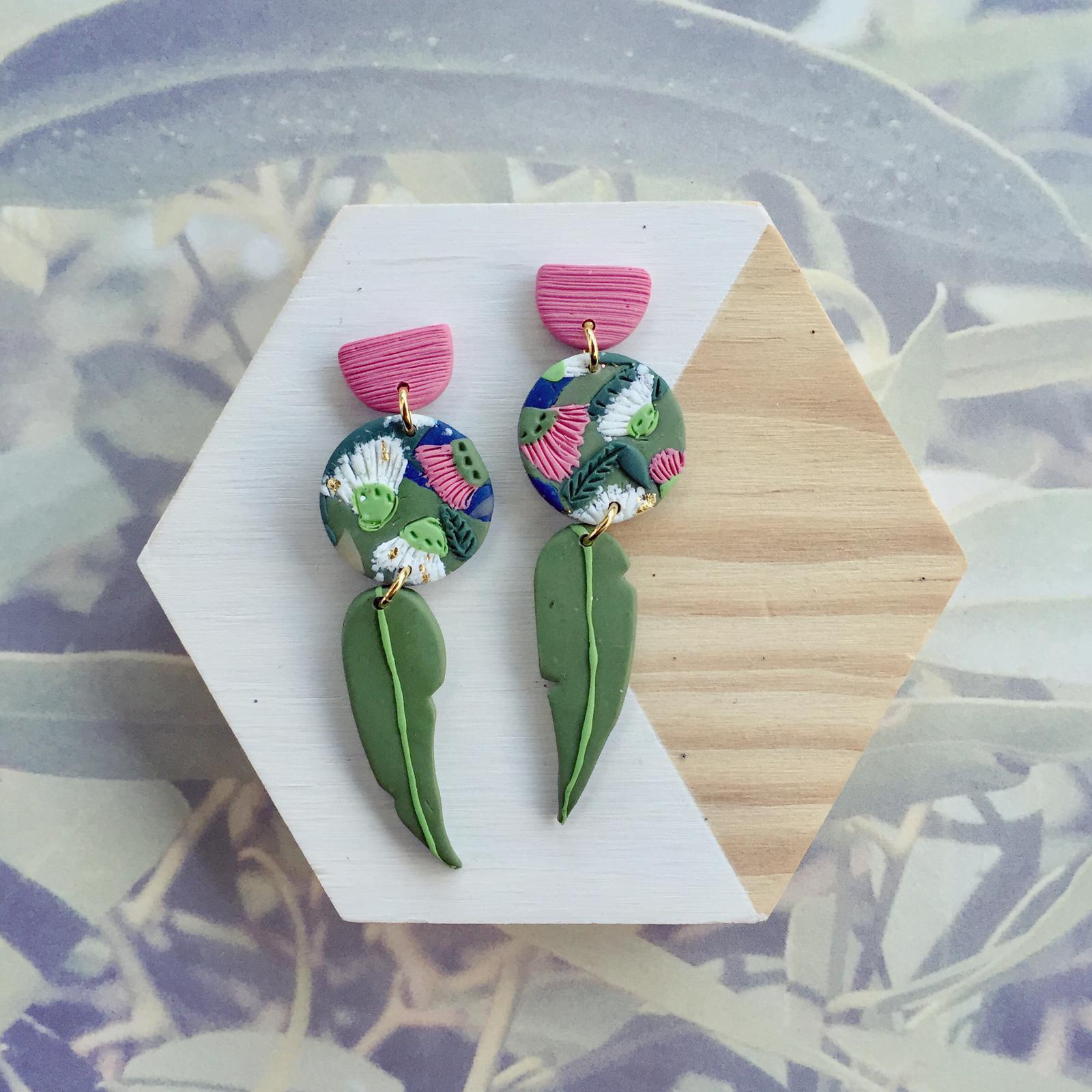 Pink flowering gums