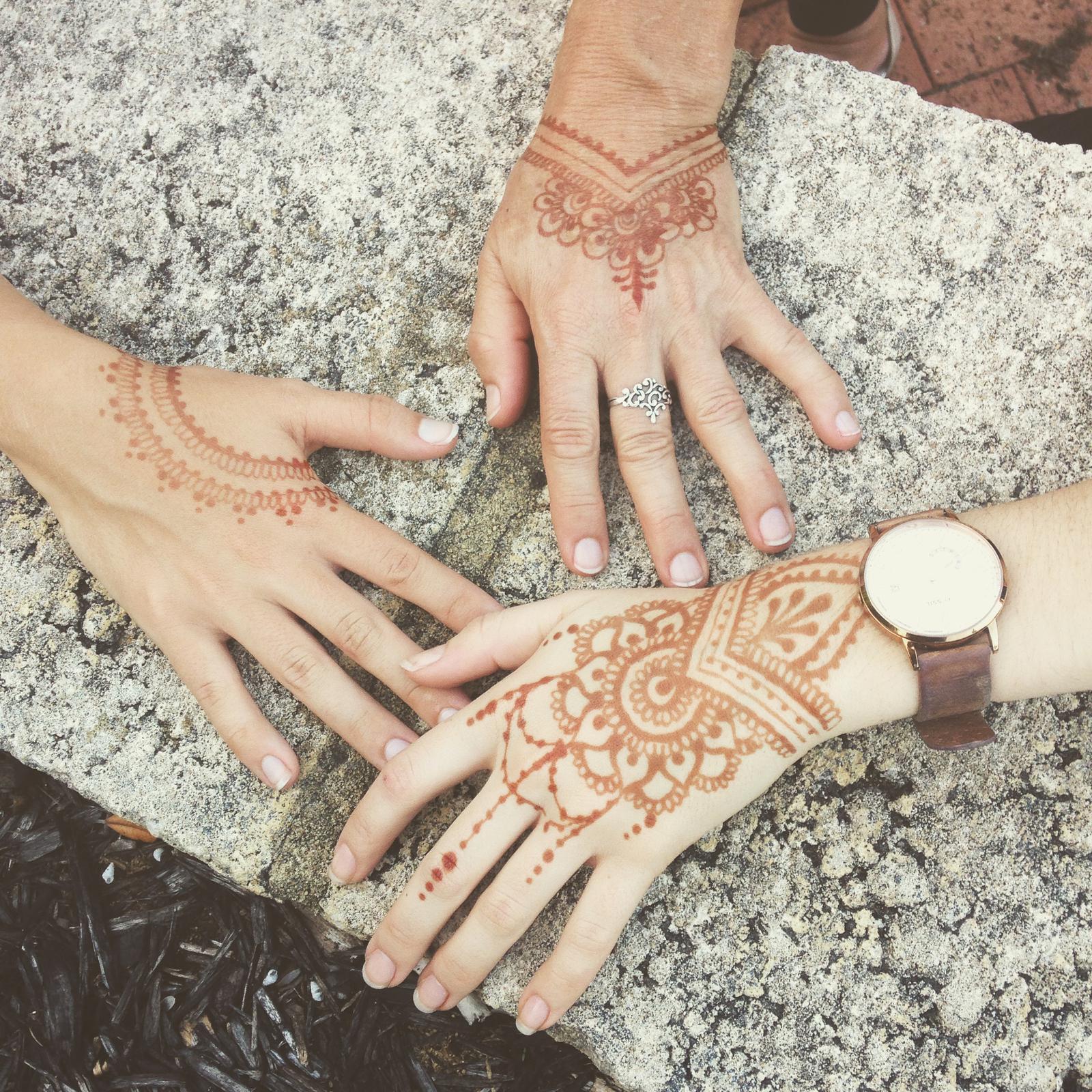 Henna Stains