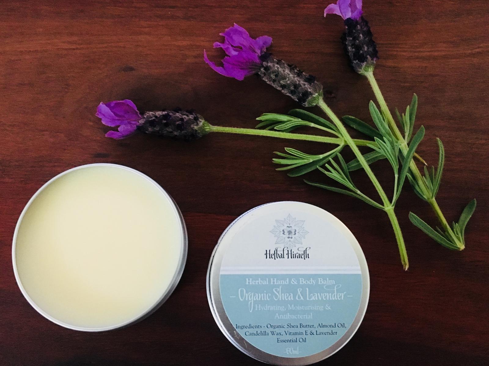 Organic Shea & Lavender Hand & Body Balm