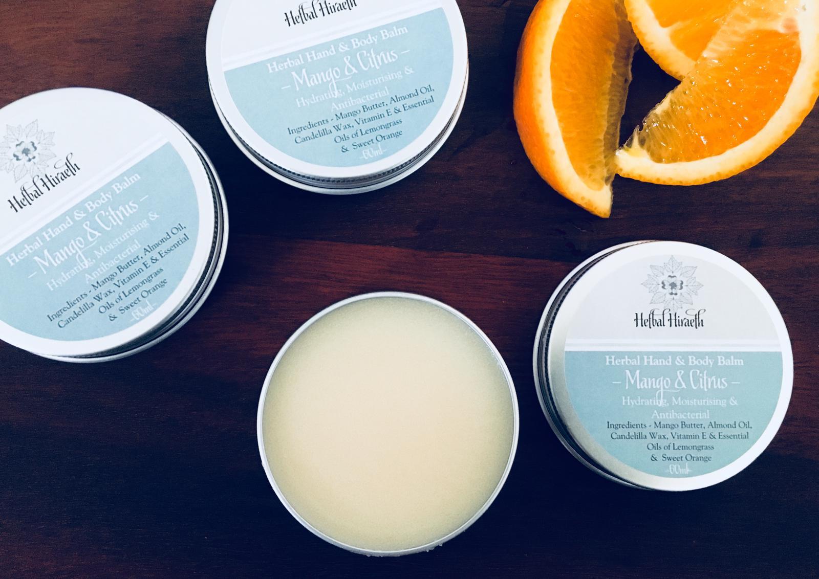 Mango & Citrus Hand & Body Balm