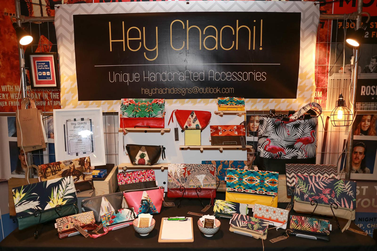 Hey Chachi! Stall display