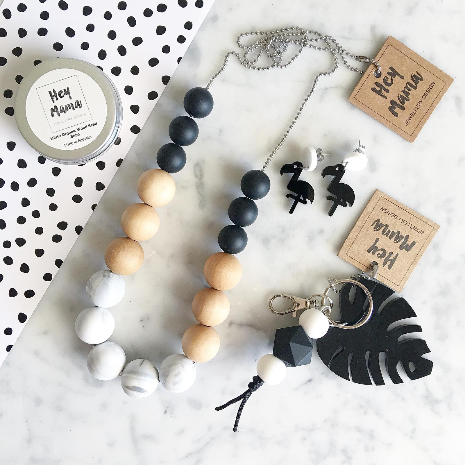 Luna necklaces keychain earrings