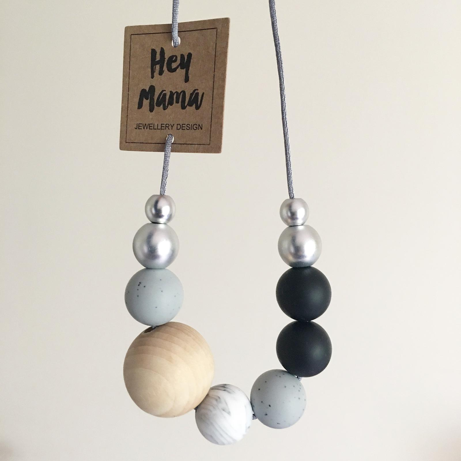 Silicone Wood Necklace