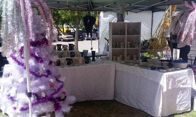 Image from Perth Makers Market December 2017 (winner of best christmas display)