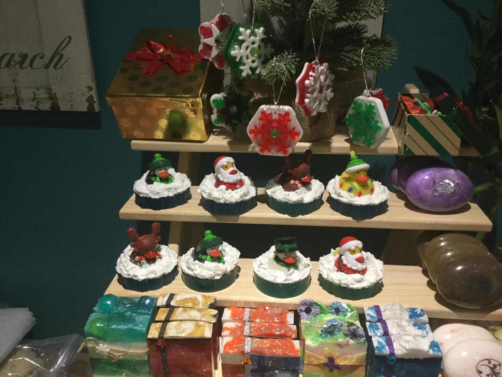Chrissy Soap Decorations
