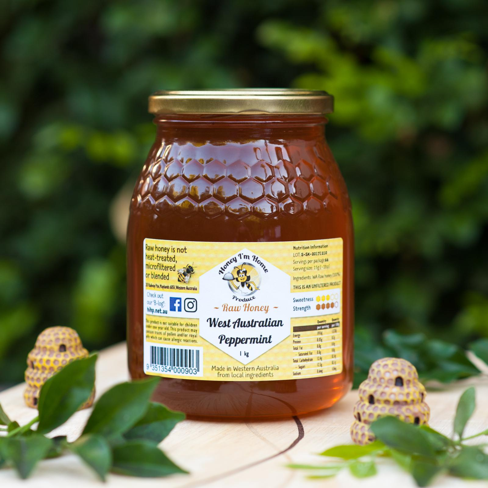 Honey I'm Home Produce - Raw Honey